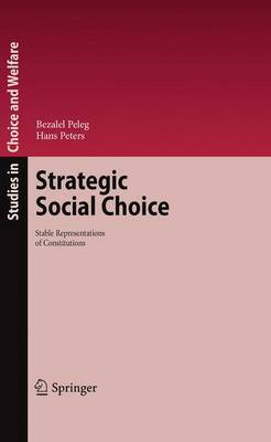 Strategic Social Choice: Stable Representations of Constitutions