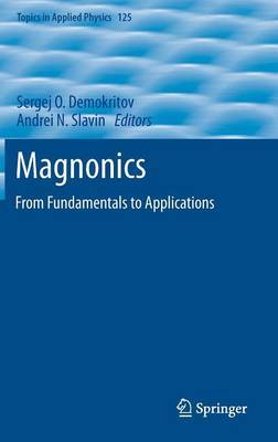 Magnonics: From Fundamentals to Applications