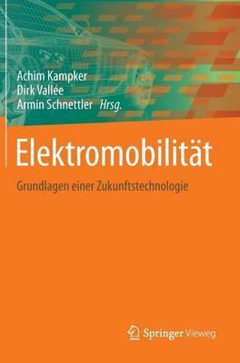 Elektromobilitat: Grundlagen Einer Zukunftstechnologie