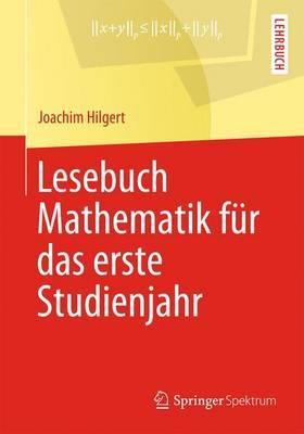 Lesebuch Mathematik F r Das Erste Studienjahr