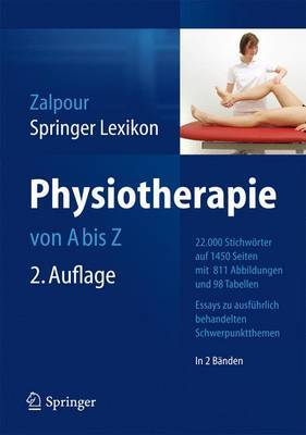 Springer Lexikon Physiotherapie: Von A Z