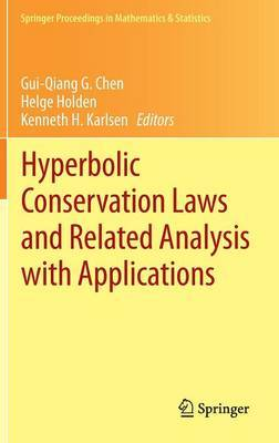 Hyperbolic Conservation Laws and Related Analysis with Applications: Edinburgh, September 2011