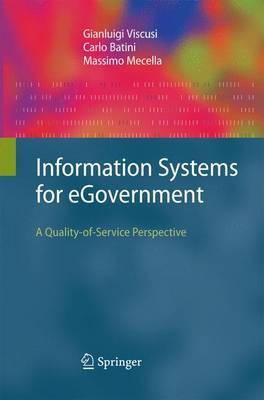 Information Systems for eGovernment: A Quality-of-Service Perspective