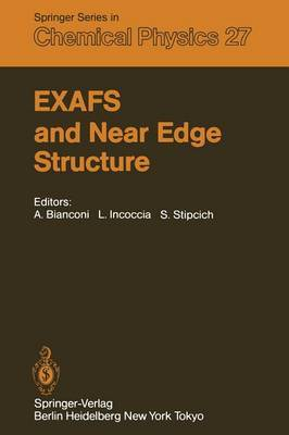 EXAFS and Near Edge Structure: Proceedings of the International Conference Frascati, Italy, September 13-17, 1982
