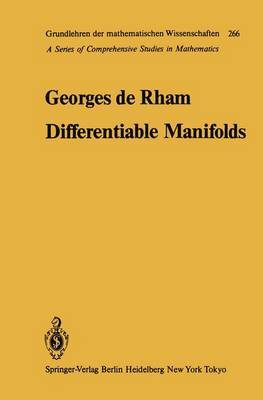 Differentiable Manifolds: Forms, Currents, Harmonic Forms