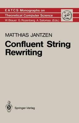 Confluent String Rewriting