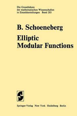 Elliptic Modular Functions: An Introduction