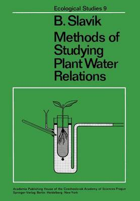 Methods of Studying Plant Water Relations