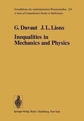 Inequalities in Mechanics and Physics