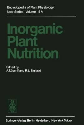 Inorganic Plant Nutrition