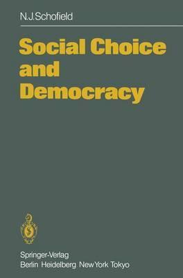 Social Choice and Democracy