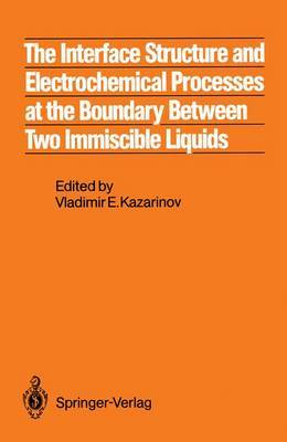 The Interface Structure and Electrochemical Processes at the Boundary Between Two Immiscible Liquids
