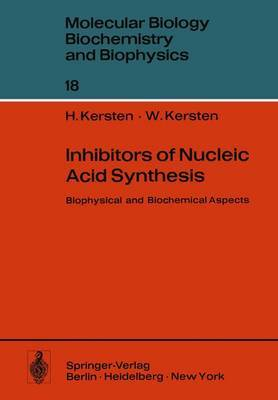 Inhibitors of Nucleic Acid Synthesis: Biophysical and Biochemical Aspects