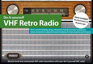 Do it Yourself Fm Retro Radio Kit & Manual