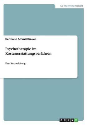 Psychotherapie Im Kostenerstattungsverfahren