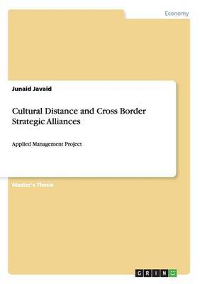 Cultural Distance and Cross Border Strategic Alliances