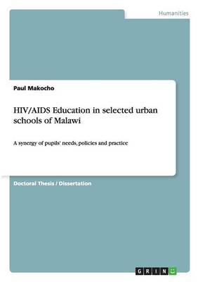 HIV/AIDS Education in Selected Urban Schools of Malawi