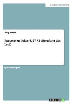 Exegese Zu Lukas 5
