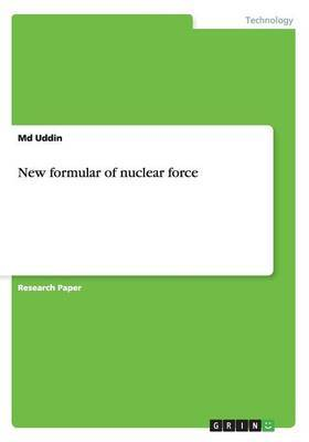 New Formula of Nuclear Force