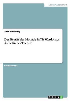 Der Begriff Der Monade in Th. W. Adornos Asthetischer Theorie