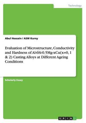 Evaluation of Microstructure, Conductivity and Hardness of Al-6si-0.5mg-Xcu(x=0, 1 & 2) Casting Alloys at Different Ageing Conditions