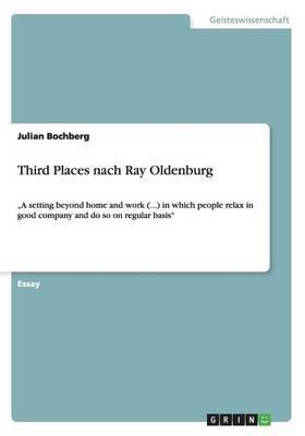 Third Places Nach Ray Oldenburg