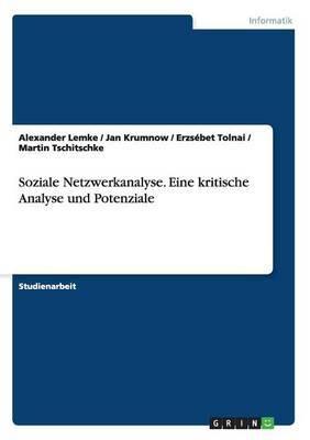 Soziale Netzwerkanalyse. Eine Kritische Analyse Und Potenziale