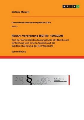 Reach: Verordnung (Eg) NR. 1907/2006