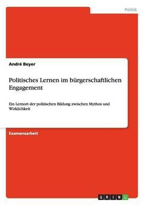 Politisches Lernen Im Burgerschaftlichen Engagement