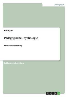 Padagogische Psychologie