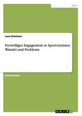 Freiwilliges Engagement in Sportvereinen