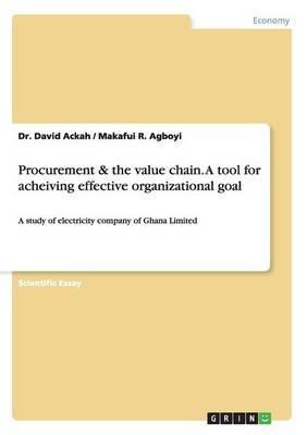 Procurement & the Value Chain