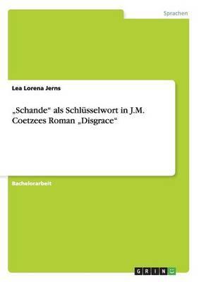 Schande ALS Schlusselwort in J.M