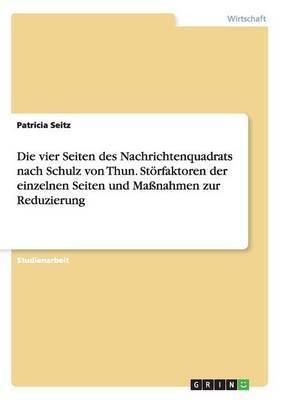 Die Vier Seiten Des Nachrichtenquadrats Nach Schulz Von Thun