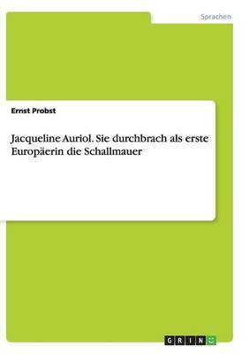 Jacqueline Auriol. Sie Durchbrach ALS Erste Europaerin Die Schallmauer