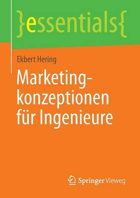 Marketingkonzeptionen Fur Ingenieure