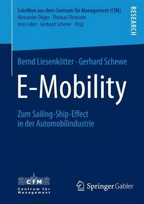 E-Mobility: Zum Sailing-Ship-Effect in Der Automobilindustrie
