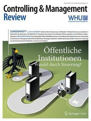 Controlling & Management Review Sonderheft 3-2014  : Offentliche Institutionen