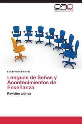 Lenguas de Senas y Acontecimientos de Ensenanza