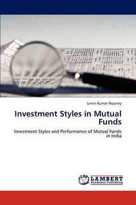 Investment Styles in Mutual Funds