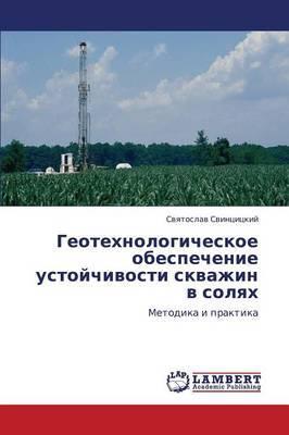 Geotekhnologicheskoe Obespechenie Ustoychivosti Skvazhin V Solyakh