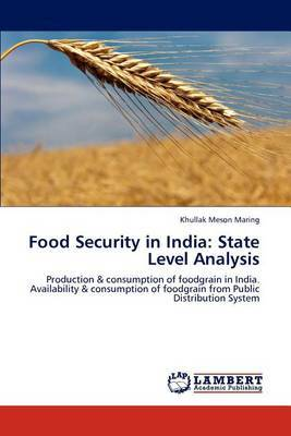 Food Security in India: State Level Analysis