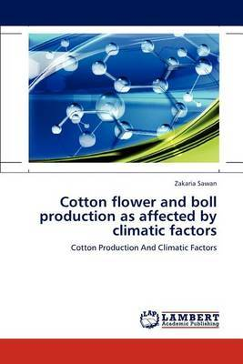 Cotton Flower and Boll Production as Affected by Climatic Factors