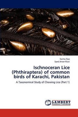 Ischnoceran Lice (Phthiraptera) of Common Birds of Karachi, Pakistan