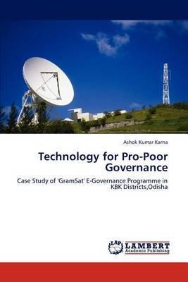 Technology for Pro-Poor Governance
