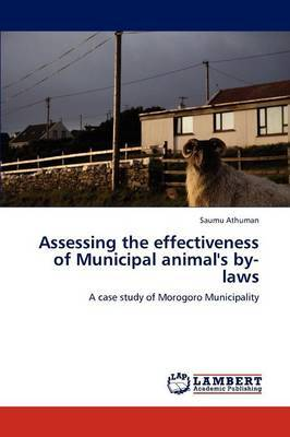 Assessing the Effectiveness of Municipal Animal's By-Laws