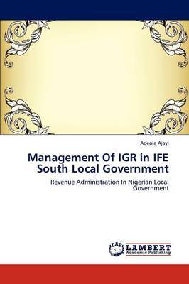 Management of Igr in Ife South Local Government