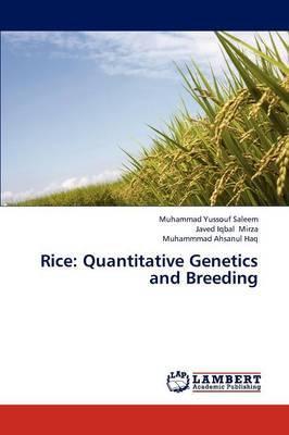 Rice: Quantitative Genetics and Breeding
