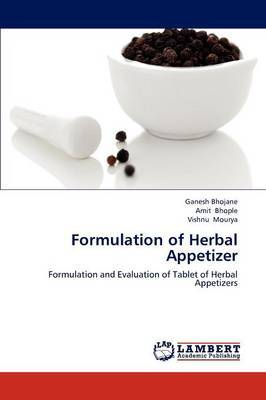 Formulation of Herbal Appetizer