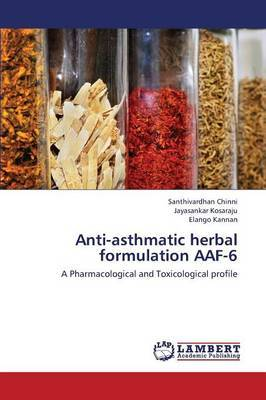 Anti-Asthmatic Herbal Formulation Aaf-6